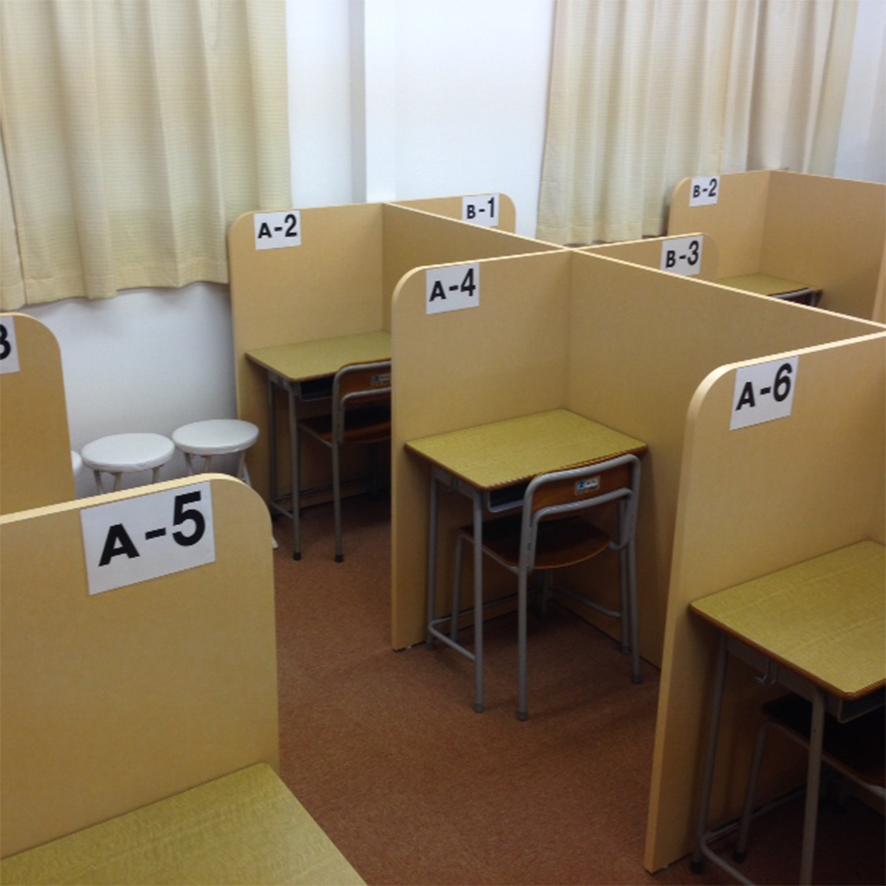 教室内の様子!